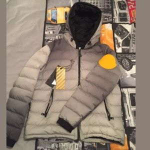 Off white moncler Size 6 Dinard Coat OG Virgil